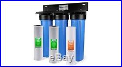 ISpring WGBb32B 3-stage Whole House Water Filtration System with20 Inch Big Blue