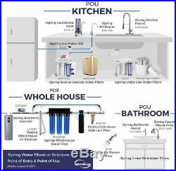 Ispring Wgb32B 3-Stage Whole House Water Filtration System With 20 X 4.5 Big