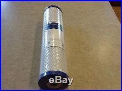 Lot of 3-Pentek EP-20BB 5 Micron Whole House 20 x 4.5 Carbon Block Water Filter