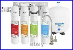 Metpure Versatile 4 Stage Quick Twist Reverse Osmosis Water Filtration System