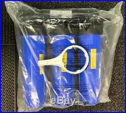 NNB iSpring Water System WGB32B 3-Stage Whole House Water Filtration Free Ship