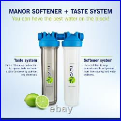 NuvoH2O Manor + Taste Complete Water Softener System, Replacement Cartridge