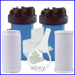 Osmio PRO-II-A Advanced Whole House Water Filter System with Active Ceramics