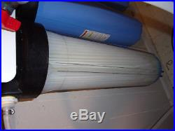 Pentek Big Blue 20 x 4.5 Inch Whole House Filter Housing 1 IN/OUT