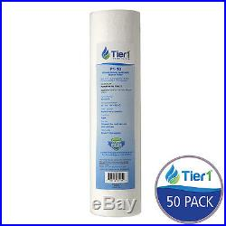 Pentek P1 1 Micron 10x2.5 Comparable Whole House Sediment Water Filter 50 Pack