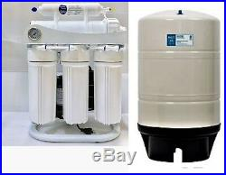 RO Reverse Osmosis Water Filter System with Booster Pump- 400 GPD 20 Gallon Tank
