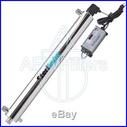 Sterilight 7.7 20 GPM high performance UV Whole House Water Filter S8Q-PA