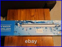 Ultraviolet Light Water Purifier Whole House Sterilizer 25W 6GPM with 3 bulbs