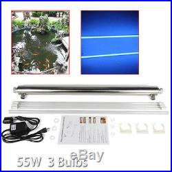 Ultraviolet Light Water Purifier Whole House UV Sterilizer 12GPM +Extra Bulb New