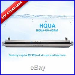 Ultraviolet Water Purifier Sterilizer Filter for Whole House Water