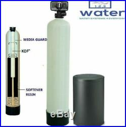 WELL WATER SOFTENER AND IRON REDUCTION WATER SYSTEM KDF85 Media Guard 48K Grain