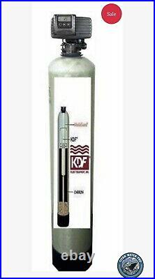 WHOLE HOUSE WATER FILTERS SYSTEMS KDF85/Catalytic Carbon IRON/HYDROGEN SULFIDE