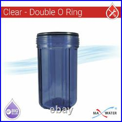 WH 3 Stage Purple Clear with Iron Manganese Sulfur Hydrogen sulfide Filter 1 Port