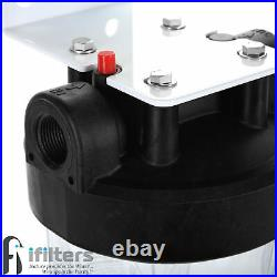 Well Water 20 Filtration Sediment System Pleated Washable Filter, 1 Ports