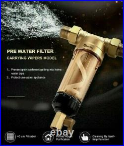 Wheelton Sediment Water Purifier Water for Whole House System (WWP-02S) New