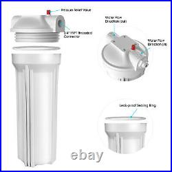 Whole House 10 Water Filtration System / Spin Down Sediment Pre-water Filter