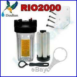 Whole House Doulton RIO2000 3/4 Water Filter System