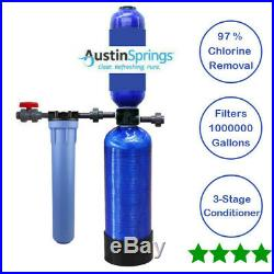 Whole House Filter System For City Or Municipality 1000,000 Gallon Austin Spring