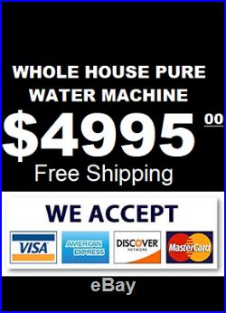 Whole House Pure Water Machine Water Purification For Whole House