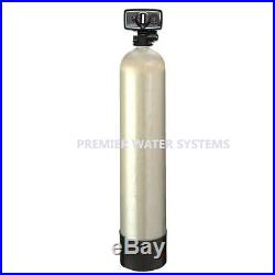 Whole House Super Water Filter Reduces Iron & hydrogen sulfide chloramine 2FT^3