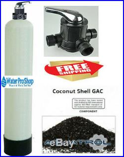 Whole House Water Filter System, City or Municipal Water Coconut Shell Carbon