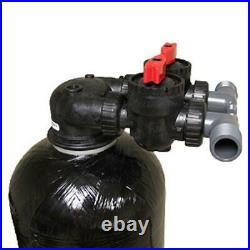 Whole House Water Filter System Coconut Shell Carbon Up flow Valve 2 cubic ft