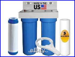 Whole House Water Filter System, Water Filter, Big Blue, 2 1/2 x 10