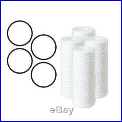 Whole House Water Filters 4-Pack 10 in. 5 Micron Sediment Replacement Filter