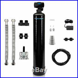 Whole House Well Water Filter System Iron, Sulfur, Arsenic, Manganese, 1 CuFt